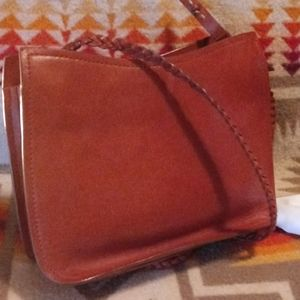 Sigrid Olsen Bags - Sigrid Olsen- Honey Leather Small Bag/sachel